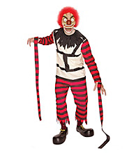 Crazy the Clown Adult Costume