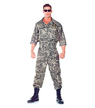 U.S. Army Jumpsuit Adult Costume
