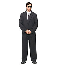 Black Suit Adult Costume