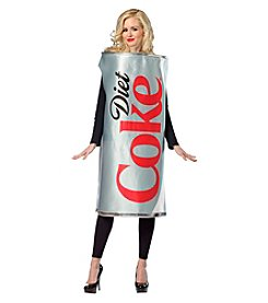 Coca-Cola or Diet Coke Can Adult Costume