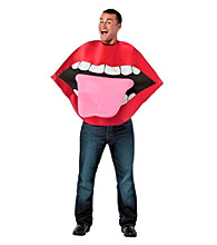 Lips and Tounge Adult Costume