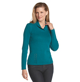 Studio Works® Pullover Sweater With Shawl Collar