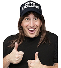 Excellent! Wayne Campbell Wig and Hat Accessory Kit