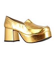 Gold Adult Shoes