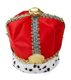 Red Velvet King Crown Adult