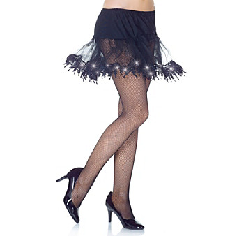 Black Light-Up Petticoat Adult