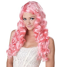 Sweet Tart Pink Adult Wig