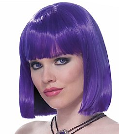 Vibe Purple Adult Wig