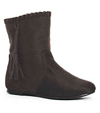 Brown Moccassin Child Boots
