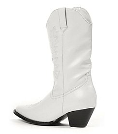 Rodeo White Child Boots