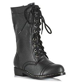 Colonial Black Child Shoes