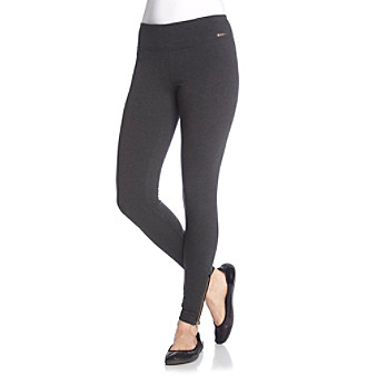 Calvin Klein Performance Gold Zipper Legging