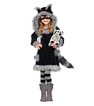 Sweet Raccoon Toddler Costume