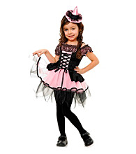 Black and Pink Witch Child Costume