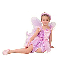 Pink Rosebud Fairy Child Costume