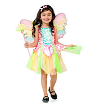 Rainbow Princess Fairy Child Costume