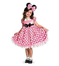 Disney™ Mickey Mouse® Clubhouse Pink Minnie Mouse Glow in the Dark Child Costume