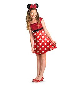Disney® Mickey Mouse Clubhouse Red Minnie Mouse Child / Tween Costume