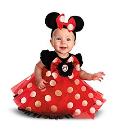Disney® Red Minnie Mouse Infant Costume
