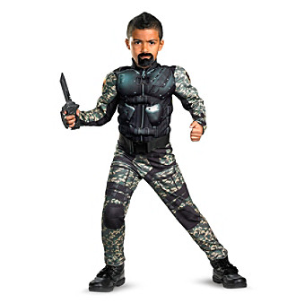 G.I. Joe Retaliation Roadblock Classic Muscle Child Costume
