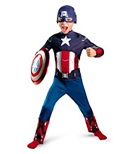 The Avengers Captain America Classic Child Costume