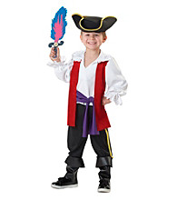 The Wiggles Captain Feathersword Child Costume