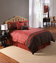 Sakura Red 6-pc. Comforter Set by LivingQuarters