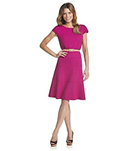 Anne Klein® Honeycomb Swing Dress