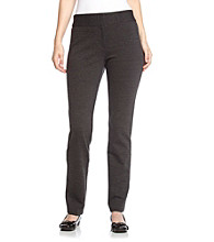 Laura Ashley® Petites' Ponte Pants