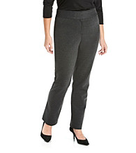 Laura Ashley® Plus Size Ponte Pants