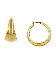 Vince Camuto™ Taper Hoop Earrings