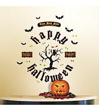 Lot 26 Studio® Add-Heres® Glitter Halloween Tree Peel & Stick Wall Decals