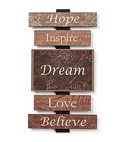 Hope, Inspire, Dream Wall Art