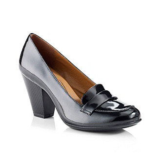 "Eurosöfft® Black ""Randi"" Tailored Heel"