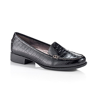 "Eurosöfft® Black ""Fondah"" Tailored Shoe"