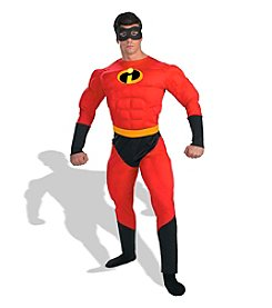 Disney® Pixar The Incredibles: Mr. Incredible Muscle Adult Costume