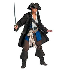 Disney® Pirates of the Caribbean: Captain Jack Sparrow Prestige Adult Costume
