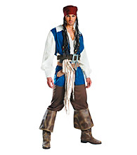 Pirates of the Caribbean - Captain Jack Sparrow Adult Costume