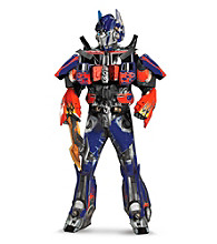 Transformers 3 Dark Of The Moon Movie - Optimus Prime 3D Theatrical W Vacuform Adult Costume