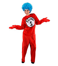Dr. Seuss The Cat in the Hat - Thing 1 and Thing 2 Adult Costume