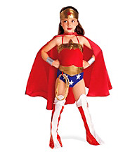 Justice League DC Comics Wonder Woman Child Costume