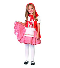 Lil' Miss Red Toddler Child Costume