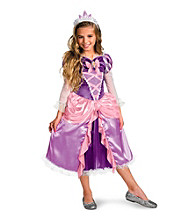 Tangled - Rapunzel Lame Deluxe Toddler / Child Costume