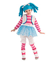 Lalaloopsy - Mittens Fluff 'N' Stuff Doll Toddler / Child Costume