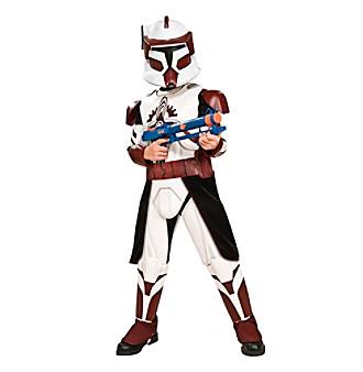 Star Wars Clone Wars Deluxe Commander Fox Child Costume