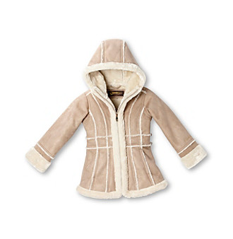 Hawke & Co. Girls' 4-6X Shearling Coat