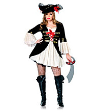 Captain Swashbuckler Adult Plus Costume