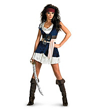 Pirates Of The Caribbean - Jack Sparrow Sassy Adult Costume
