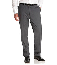 Calvin Klein Men's Wool Flat-Front Dress Pants
