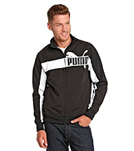 PUMA® Men's Black Tricot Jacket